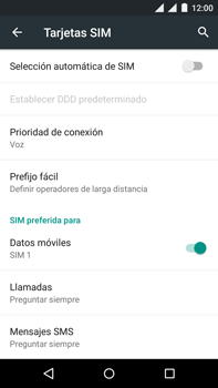 Motorola Moto X Play - Internet - Activar o desactivar la conexión de datos - Paso 6