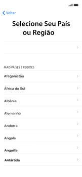 Apple iPhone XR - Primeiros passos - Como ativar seu aparelho - Etapa 6