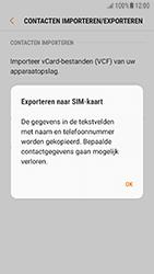 Samsung Galaxy A3 (2016) - Android Nougat - Contacten en data - Contacten kopiëren van toestel naar SIM - Stap 9