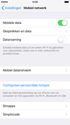 Apple iPhone 6 iOS 9 - Internet - Mobiele data uitschakelen - Stap 4