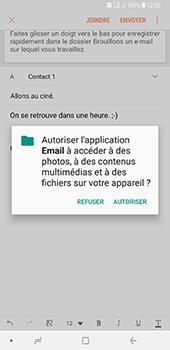 Samsung Galaxy A7 (2018) - E-mail - envoyer un e-mail - Étape 11