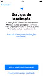 Apple iPhone 7 - iOS 12 - Primeiros passos - Como ligar o telemóvel pela primeira vez -  21