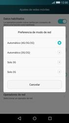 Huawei P8 Lite - Red - Seleccionar el tipo de red - Paso 6
