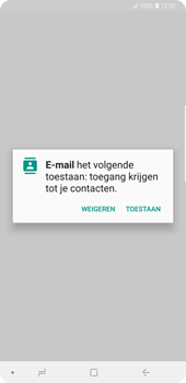 Samsung galaxy-note-9-sm-n960f - E-mail - Account instellen (POP3 met SMTP-verificatie) - Stap 5
