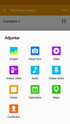 Samsung Galaxy J5 - Mensajería - Escribir y enviar un mensaje multimedia - Paso 17