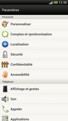HTC One S - Sécuriser votre mobile - Activer le code de verrouillage - Étape 4