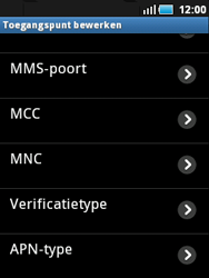 Samsung S5570 Galaxy Mini - Internet - buitenland - Stap 10