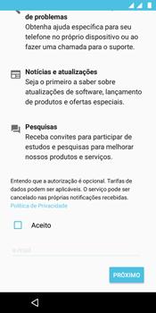 Motorola Moto E5 - Primeiros passos - Como ativar seu aparelho - Etapa 16