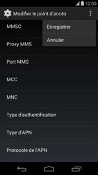 LG D821 Google Nexus 5 - MMS - configuration manuelle - Étape 16