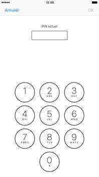 Apple iPhone 7 Plus - Sécuriser votre mobile - Personnaliser le code PIN de votre carte SIM - Étape 6