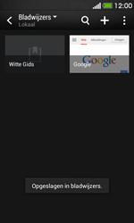 HTC Desire 500 - Internet - Hoe te internetten - Stap 12