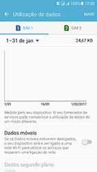 Samsung Galaxy J5 (2016) DualSim (J510) - Internet no telemóvel - Como ativar os dados móveis -  6