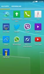 Alcatel Pop S3 (OT-5050X) - Voicemail - Handmatig instellen - Stap 3