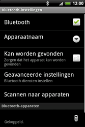 HTC A6363 Legend - Bluetooth - Headset, carkit verbinding - Stap 10