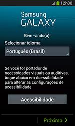 Samsung Galaxy Grand Neo - Primeiros passos - Como ativar seu aparelho - Etapa 4