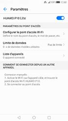 Huawei P10 Lite - Internet et connexion - Partager votre connexion en Wi-Fi - Étape 10