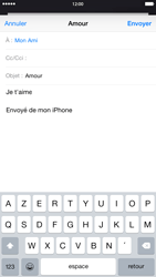 Apple iPhone 6 Plus iOS 8 - E-mail - Envoi d