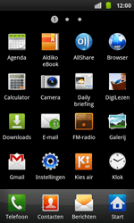 Samsung I9001 Galaxy S Plus - Internet - Handmatig instellen - Stap 11