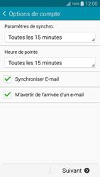 Samsung Galaxy A3 (A300FU) - E-mails - Ajouter ou modifier un compte e-mail - Étape 16