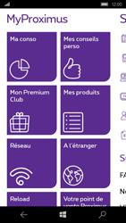 Microsoft Lumia 650 - Applications - MyProximus - Étape 13