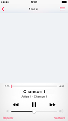 Apple iPhone 5s - Photos, vidéos, musique - Ecouter de la musique - Étape 5