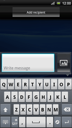 Sony Xperia Neo V - MMS - Sending pictures - Step 4