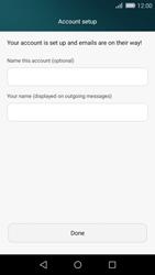 Huawei P8 Lite - E-mail - Manual configuration POP3 with SMTP verification - Step 18