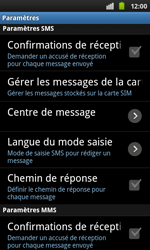 Samsung I9001 Galaxy S Plus - SMS - configuration manuelle - Étape 4