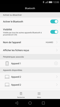 Huawei G8 - Bluetooth - connexion Bluetooth - Étape 9