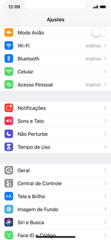 Apple iPhone X - iOS 12 - Wi-Fi - Como configurar uma rede wi fi - Etapa 3
