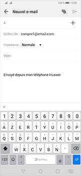 Huawei P30 - E-mail - envoyer un e-mail - Étape 4