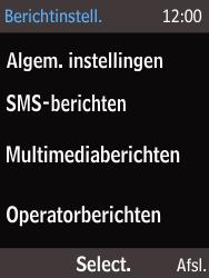 Nokia 216 - SMS - Handmatig instellen - Stap 6