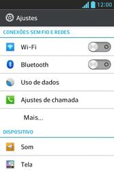 LG E612 Optimus L5 - Chamadas - Como bloquear chamadas de um número específico - Etapa 5