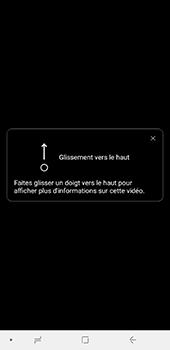 Samsung Galaxy A7 2018 - Photos, vidéos, musique - Créer une vidéo - Étape 19