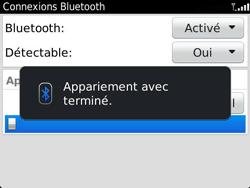 BlackBerry 9360 Curve - Bluetooth - Jumeler avec un appareil - Étape 11