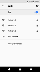 Sony Xperia XA2 - Wi-Fi - Connect to a Wi-Fi network - Step 7