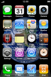 Apple iPhone 3G S - Email - Sending an email message - Step 1
