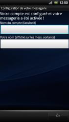 Sony Ericsson Xperia Ray - E-mail - Configurer l