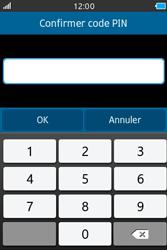Samsung Wave M - Sécuriser votre mobile - Personnaliser le code PIN de votre carte SIM - Étape 9