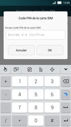 Huawei Y5 - Sécuriser votre mobile - Personnaliser le code PIN de votre carte SIM - Étape 6