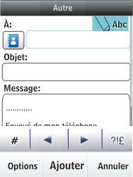 Nokia C2-03 - E-mail - envoyer un e-mail - Étape 7