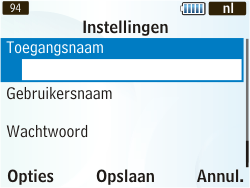 Samsung S3350 Chat 335 - Internet - handmatig instellen - Stap 11