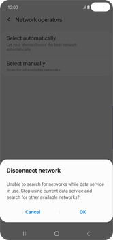 Samsung Galaxy S10 Plus - Network - Manually select a network - Step 8