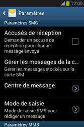 Samsung S6790 Galaxy Fame Lite - SMS - configuration manuelle - Étape 6