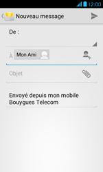 Bouygues Telecom Bs 401 - E-mails - Envoyer un e-mail - Étape 8