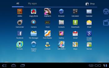 Huawei Mediapad S7-301u - Applications - Downloading applications - Step 3