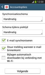 Samsung Galaxy S3 Mini VE (I8200N) - E-mail - Account instellen (IMAP met SMTP-verificatie) - Stap 17