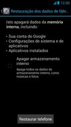 Huawei Ascend G510 - Funções básicas - Como restaurar as configurações originais do seu aparelho - Etapa 8