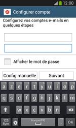 Samsung S7275 Galaxy Ace III - E-mail - Configuration manuelle - Étape 6