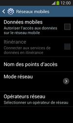 Samsung Galaxy Ace 3 - Internet et connexion - Désactiver la connexion Internet - Étape 8